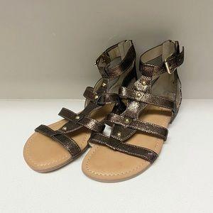 Marc Fisher Bronze Women's Summer Sandals